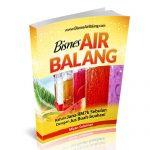 Bisnes air balang di bazar ramadhan