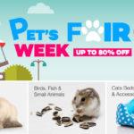 Promosi Pet's Fair Week di Lazada Malaysia – Pelbagai barangan untuk haiwan kesayangan dengan harga terendah