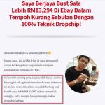 Bayar hutang kad kredit berjumlah lebih RM10 ribu melalui duit bisnes ebay
