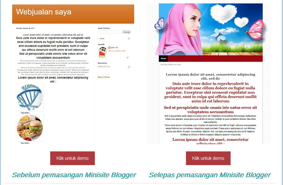 minisite-blogger-blogspot